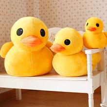 2014 new arrival Plush stuffed toys, big yellow duck plush toys, stuffed duck doll for children,  20cm ducks(China (Mainland))