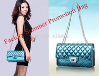 100% Guarantee Genuine Leather Women Shoulder Bag Messenger Bag, Famous Brand Chain Bag, Plaid Women Leather Handbags