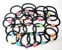 wholesale 50pcs/lot Wig Plait Braid Hair band headband Bandeaux Brown Ponytail Holder US SELLER