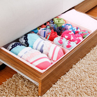 FREE SHIPPING!!! Plastic double-layer movable storage box underwear bra underwear sock drawer containing K1789