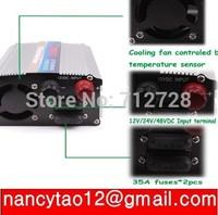 Free Shipping DC12V to AC 220V 500W USB Car Power Inverter Adapter Automatic Thermal Shutdown Power Inverter