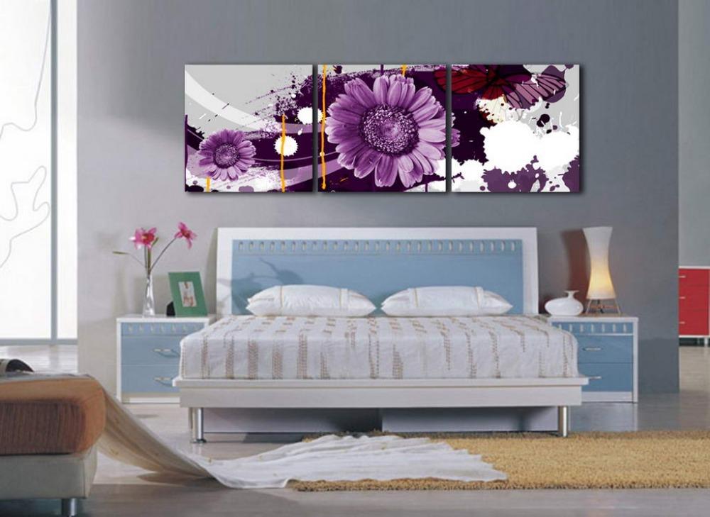 Online kopen wholesale 3 delige muur opknoping uit china 3 delige muur opknoping groothandel - Kamer schilderij ...