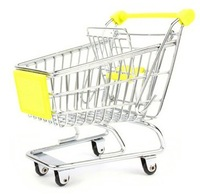 Free Shipping New 3Pcs Home Decoration Life Supplies Mini Shopping Cart Supermarket Shopping Carts Kids Children Gift