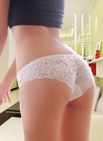 women's Lingerie Lace Briefs Sexy Shorts Pants Seamless transparent underpants tempted Modal knickers panties Ladies scanties