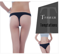 New one-piece women's Lingerie Sexy Shorts Pants Seamless Thongs underpants low waist knickers tempted panties Ladies scanties