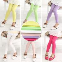 Candy colored elastic foundation models Leggings \ big virgin girls leggings \ Free shipping