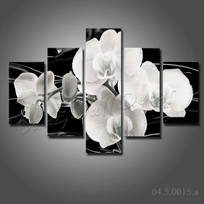 Flower Frame Black And White Black And White Flowers