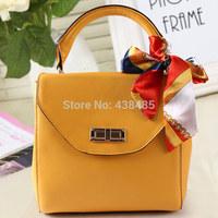 2014 Summer Euro-american Famous Brand Women Handbag 100% Genuine Leather Women Shoulder Bag Small Satchel Bag Crossbody