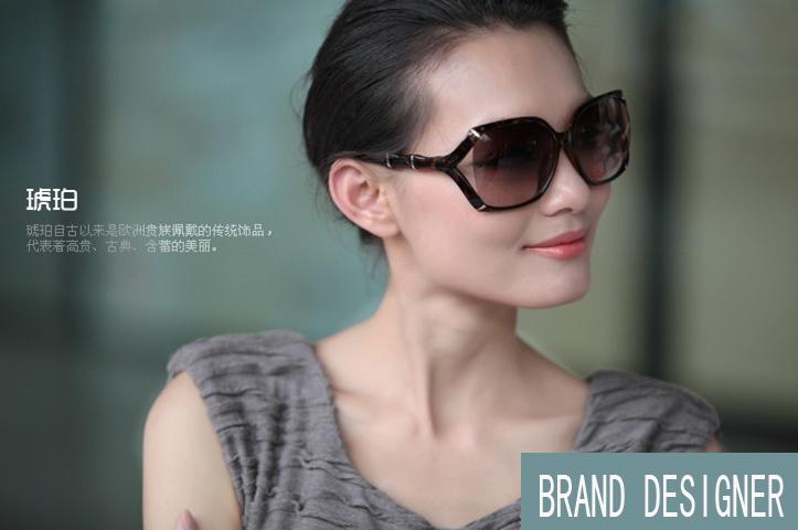 Marke berühmt großen Gläsern bambus form Beine sonnenbrillen motorrad für männer und frauen Marken-Design schwarz braun rahmen sonnenbrillen