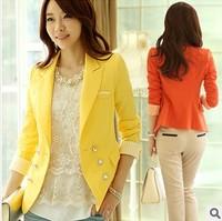 Large size ladies coat Autumn Korean Slim leisure suit female professional brand
