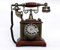 Chinese wind restoring ancient ways telephone precious gift The rotary dial key old antique phone Antique telephone