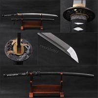 Details about Craftwork handmade Japanese katana damascus folded practical samurai sword *711