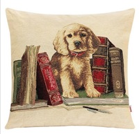 New Fashion Animals Decorative Jacquard Cushion Covers Knitted Two Sides Dog Pattern Throw Pillow Cases Home Decor