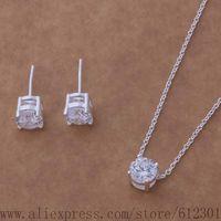 AS044 925 sterling silver jewelry set, fashion jewelry set /djkamara ewaannha