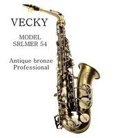 VECKY C3OO Antique bronze alto saxophone design from SELMER 54 Professional level