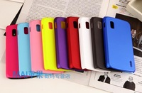 2Pcs/lot,Luxury Slim Matte Hard Plastic Protective Phone Case for LG Google Nexus 4 case LG Nexus 4 E960 case,Free Shipping