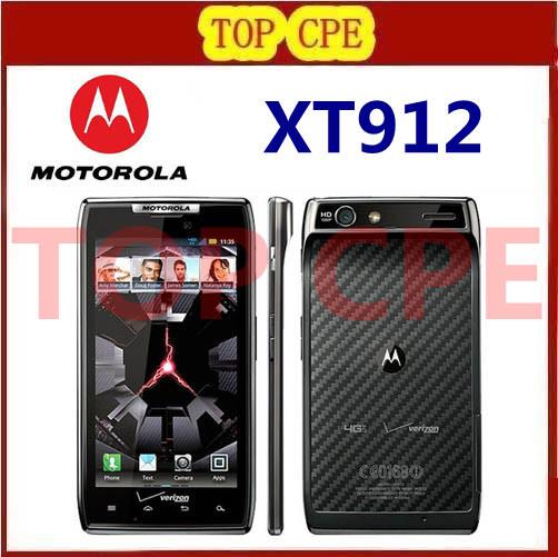"4.3"" Original XT912 Motorola Android phone Dual Core ROM 16GB Camera 8.0MP Bluetooth 4.0 Unlocked RAZR XT912 Mobile Phone(China (Mainland))"