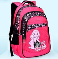 Quality Assurance Retail Lovely Children Girl School Bags 4~10 Years Kids Cartoon Backpack