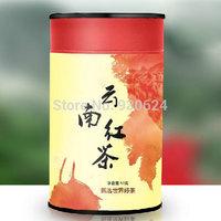 2014New Top Grade Yunnan Black Tea from Professional Tea Planter Direct 50g/1.76oz Paper can Gift Box