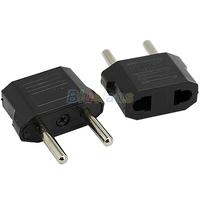 10pcs US to EU AC Power Plug Travel Converter Adapter Household Plugs Wholesale Free Shipping 01NB
