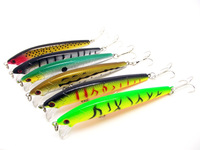 hot direct sales free shipping fish lure fish bait in real shape 6 pcs / set, 9.5cm 9g per piece in very competitive price 143