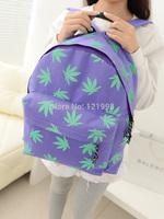 HOT SALE !!2015 bags casual backpack women colorful canvas shoulder bag girls school bag the Knapsack Rucksack 1 BP1