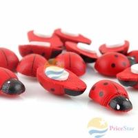 PriceStar 10X Cute Beetle Refrigerator Sticker Fridge Magnet Big Worldwide free shipping
