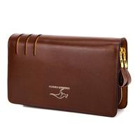 New 2014 Brand Wallet Men Genuine Leather Wallet Hand Bags Men Wallets Clutch Bag Cowhide Purses