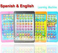 Spanish & English Language Kids Learning Machine Children Educational Mini Learning Education toys