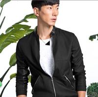 Peacebird men new spring Coat Jacket / Korean cultivating jacket B2BC3170550