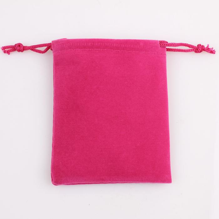 Livraison gratuite 8*9cm carré. flanelle sac sacs de cadeau de bijoux recevoir de gros bijoux emballage sac