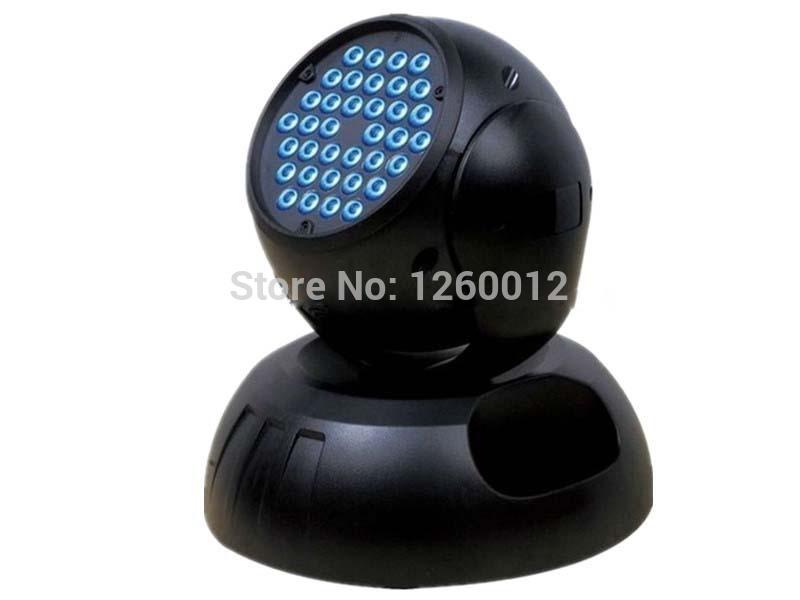 36x3W DMX RGB LED Moving Head Lights high power LED moving head(China (Mainland))
