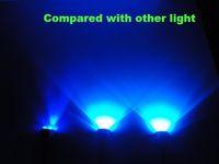 Blue Cree LED Boat Drain Plug Underwater Light, 3*3W, Fishing, Swimming,Diving