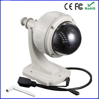 p2p pnp network 4-9mm lens ptz outdoor dome wifi wireless ip camera waterproof with TF card slot