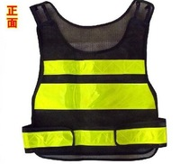 free shipping LED Reflective vest High Visibility Reflective Safety Vest Jacket Traffic safety clothing Traffic construction
