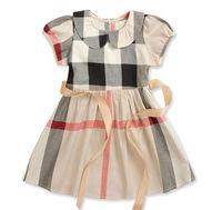Retail Top Children Girl Dress Fit 2-6Yrs Kids  Princess Tennis Summer Dress Cotton Baby Clothing  Free Shipping New Hot