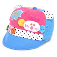 New Cute Baby Boy Girl Cap Mouse Toddler Infant Kids hat Cap  Cotton + mesh 3-12 Months