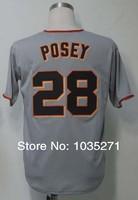 #28 Buster Posey Jersey,Baseball Jersey,Sport Jersey,Size M--XXXL,Accept Mix Order