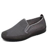 Men's Sandals,Men's flats,leisure pedal mesh breathable shoes,low elastic mouth portable and comfortable shoes,39-47 size shoes