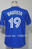 #19 Jose Bautista Jersey,Baseball Jersey,Sport Jersey,Size M--XXXL,Accept Mix Order