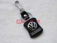 Free shipping 4 s store custom gift * vw key * creative logo key * leather key chain * key ring Christmas