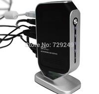 Free shipping 4 Port Networking USB 2.0 Print Server M4B Printer Share 4 USB port HUB Devices 100Mbps 2014