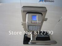 2014 Free shipping Security fingerprint lock key lock for wooden and glass door fingerprint door lock digital fingerprint lock