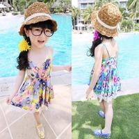 Free shipping!  new 2014 Summer Kids Dress Girls chiffon lace dress,Girls Bohemian Strap Dress Girls princess dress