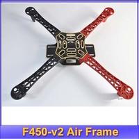 Hot!DJI phantom f450 F450-v2 Multi-Rotor Air Frame FlameWheel KIT DJI For KK MK MWC 4 Axis RC Multicopter Quadcopter UFO