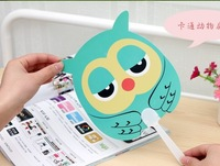 30pcs/lots Summer cool and refreshing essential cute cartoon hand fan/ PP fan MH14-506
