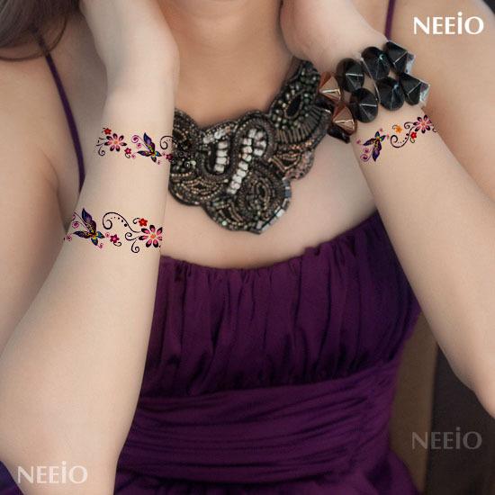 Bracelet tattoo designs promotion online shopping for for Bracelet tattoos on wrist