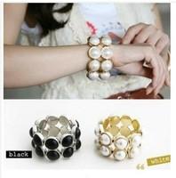 2pcs/lot Double row ball Gaultheria temperament bracelet A2103