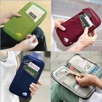 Multifunction Storage Bag purse wallet card package passport holder women long design free shipping B8002