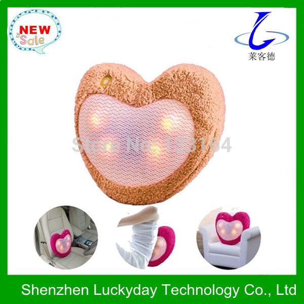 Alta qualidade massagem aquecimento eléctrico travesseiro LYD -650(China (Mainland))